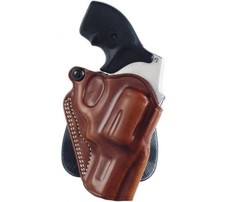 Galco Speed Paddle Holster Right Hand, Tan, S&W L Fr 3 in. and Ruger GP100 3 i by Galco
