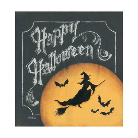 Happy Halloween Laminated Print Wall Art By Kim Lewis](Notre Lewis Halloween)