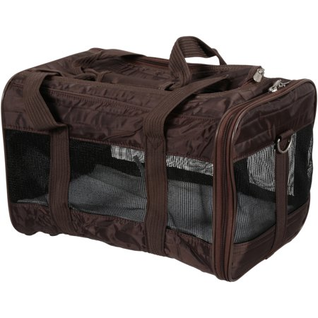 Soft Pet Carrier - Sherpa® Travel Original Deluxe™ Airline Approved Pet Carrier, Medium, Brown