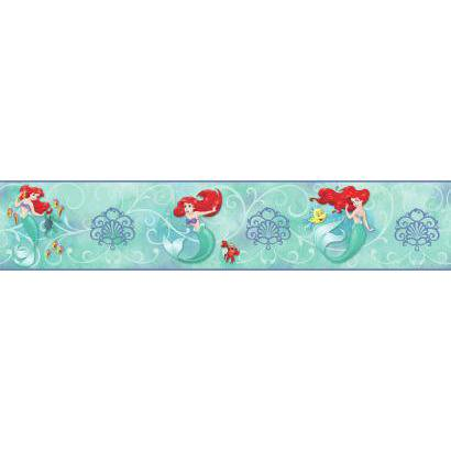 York Wallcoverings Disney The Little Mermaid DY0345BD Wallpaper Border