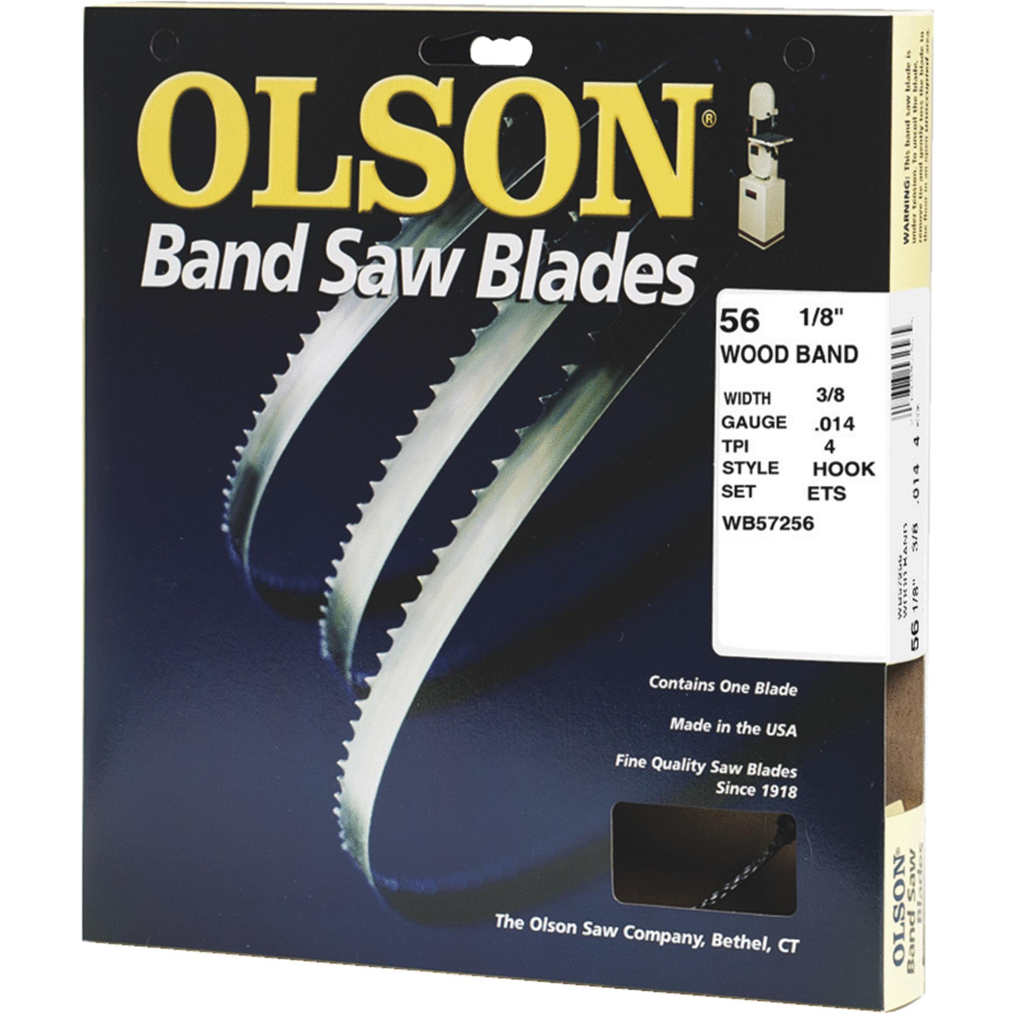 Olson Wood Cutting Band Saw Blade