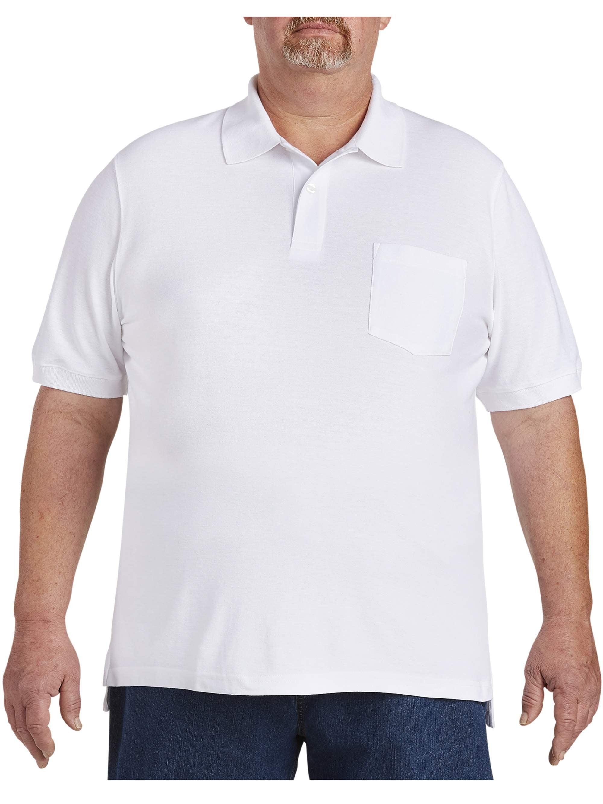 Canyon Ridge - Canyon Ridge Men's Big & Tall Pocket Pique Polo Shirt - Walmart.com