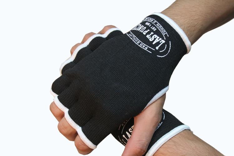 Lastworld MMA Black Color Hand Wrap Training Gloves