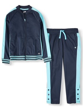 AVIA Athletic Track Suit (Little Girls & Big Girls)