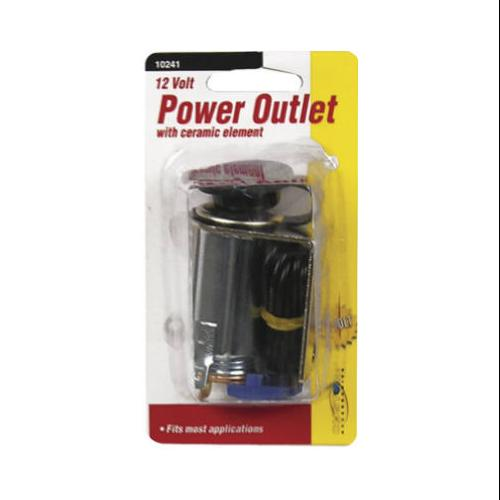 CUSTOM ACCESSORIES Auxiliary Power Outlet, 12-Volt