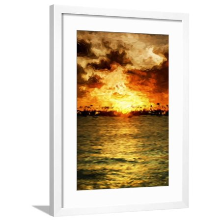 Glimmer of Hope III - In the Style of Oil Painting Framed Print Wall Art By Philippe Hugonnard