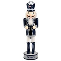 Forever Collectibles - Holiday Nutcracker V2, New England Patriots