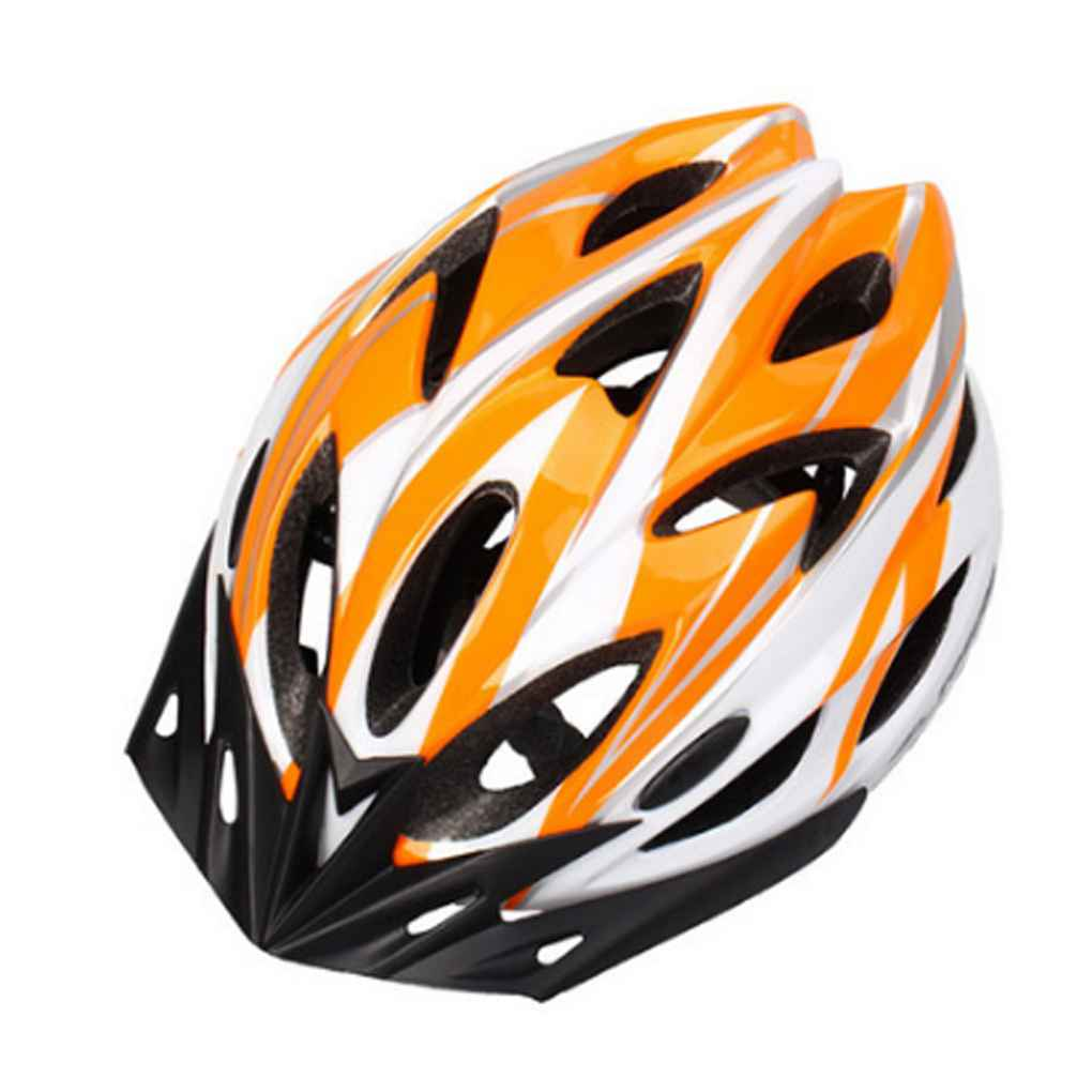 Bicycle Helmet Integrally-molded Cycling Helmet Adjustable Mountain Bicycle Road Bike Helmet Bike Safety Protection