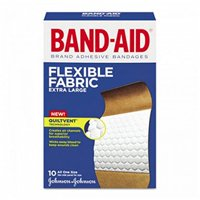 5 Pack - BAND-AID Flexible Fabric Bandages Extra Large 10 Each