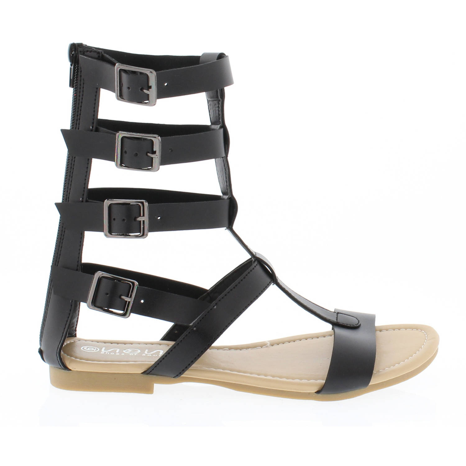 Shoes of Soul Women's Strappy Long Sandal