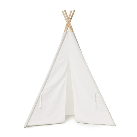 the Miller Teepee, Kids Play Tent, 100% Natural Cotton Canvas Teepee Tent for Kids with Carrying Bag](Teepee For Girls)
