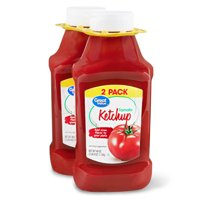 Great Value Ketchup, Twin Pack, 40 oz