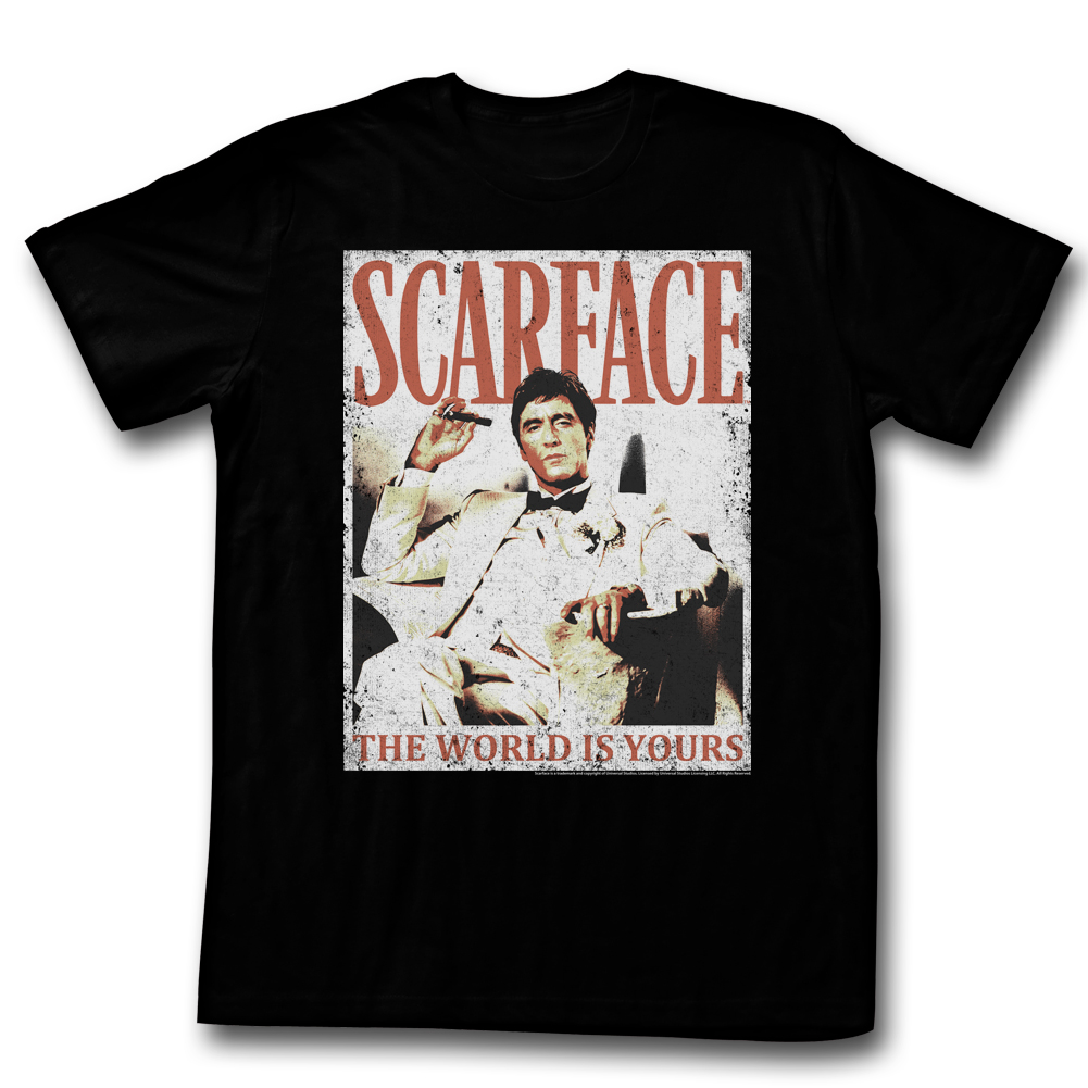 American Classics Scarface More Da World T Shirt