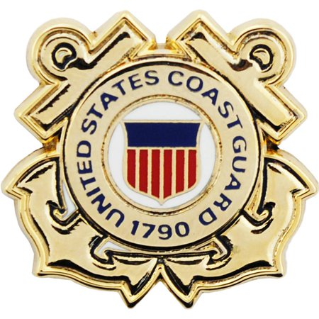 Guard Emblem - U.S. Coast Guard Emblem Pin 7/8