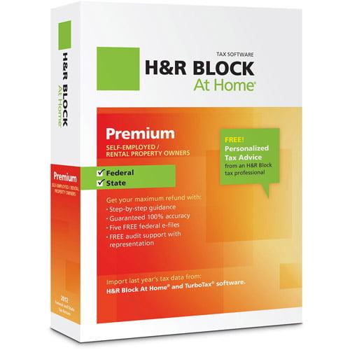 H&R Block at Home 2012 Premium