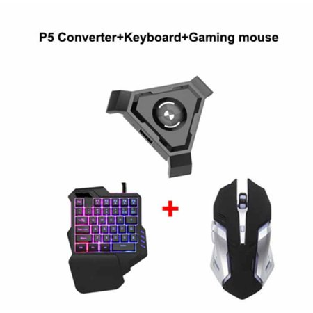 PUBG Mobile Gamepad Controller Gaming Keyboard Mouse Converter for Android Phone to PC Bluetooth