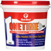 Red Devil 0544 Onetime Lightweight Spackling Quart