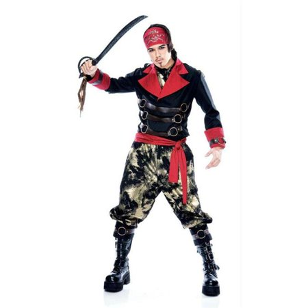Costumes For All Occasions Pm789011 Apocalypse Pirate Mens Large (Mens Pirate Costume)
