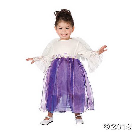 Toddler Girl's Winged Angel Costume - 3T-4T (Angel Wings Costume For Men)