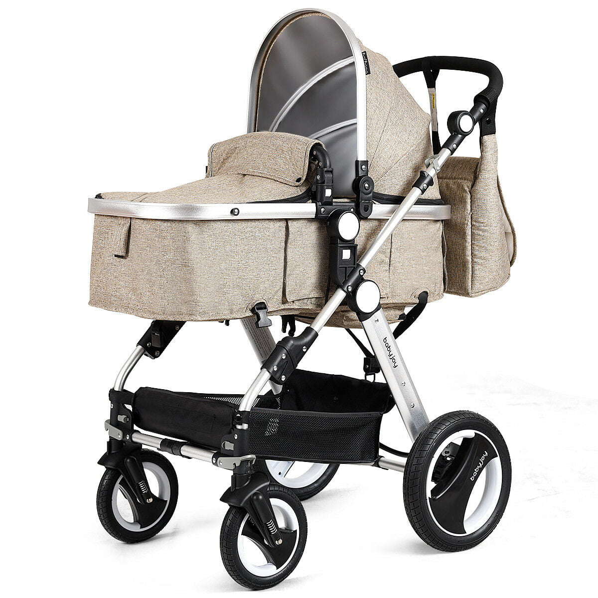 Was $440 ITEM CLOSEOUT Combi Mechacal 2AC Luxury Stroller Olive Green