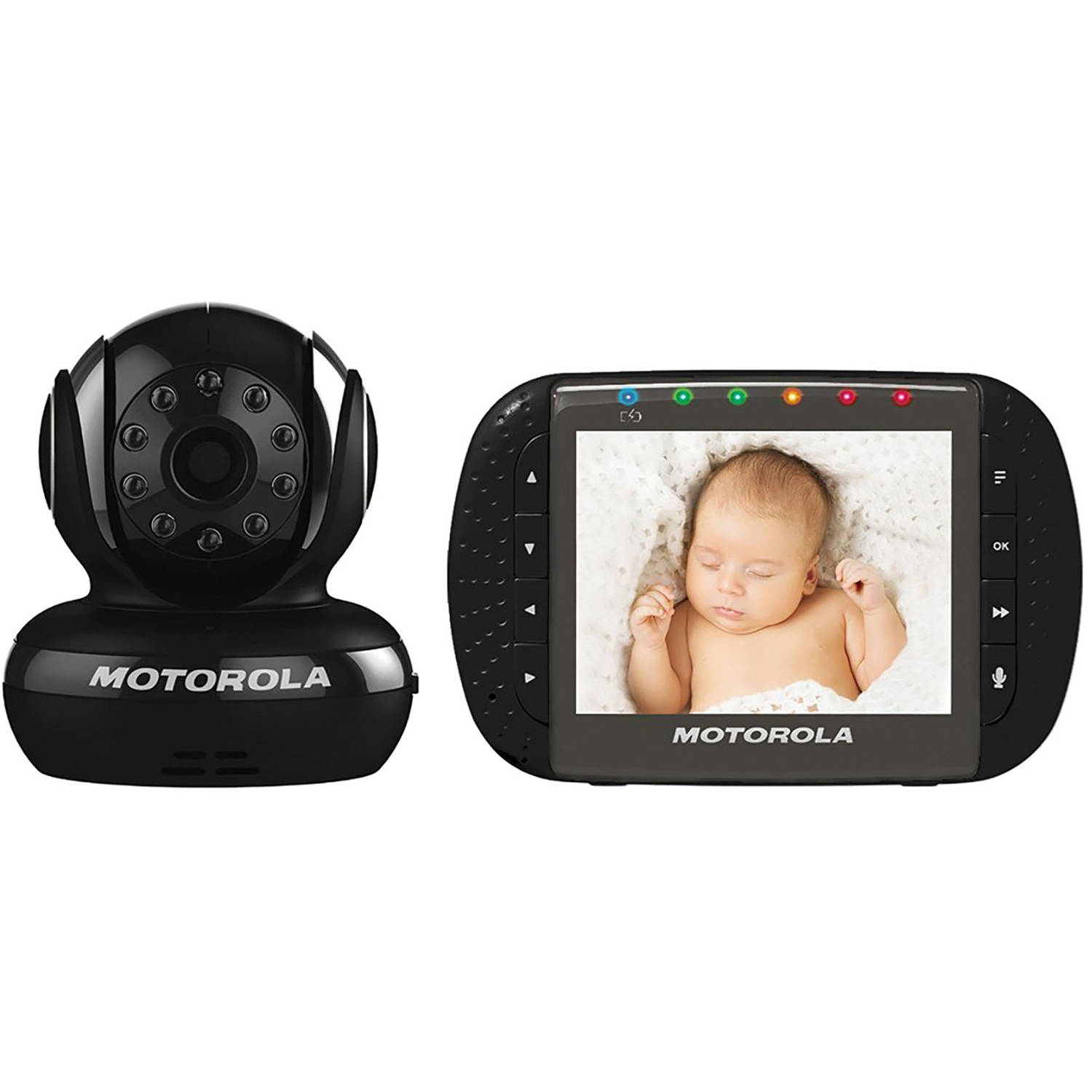 Motorola MBP43-B Digital Video Baby Monitor