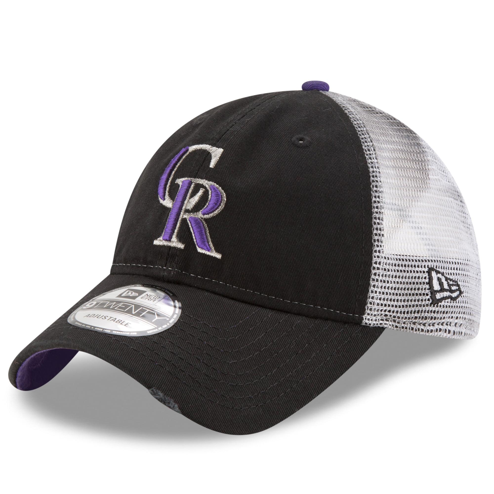 Colorado Rockies New Era Team Rustic 9TWENTY Adjustable Hat - Black - OSFA