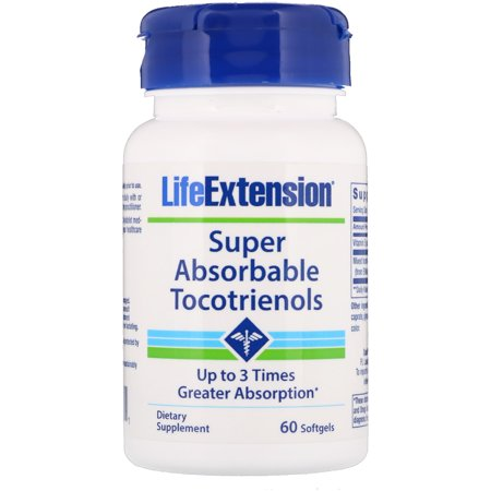 Life Extension  Super Absorbable Tocotrienols  60 Softgels
