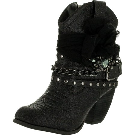 Not Rated Womens Glitzy Trio Boots