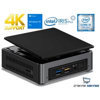 Intel NUC7i5BNK Mini PC, Intel Core i5-7260U 2.2GHz, 16GB DDR4, 256GB SSD, Wifi, BT 4.2, HDMI, Thunderbolt 3, 4k Support, Dual Monitor Capable, Windows 10 Pro