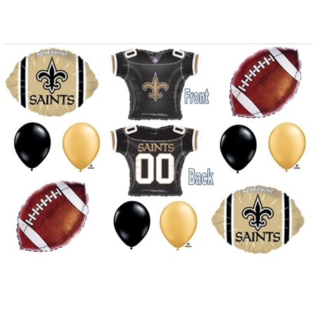 New Orleans Saints Football Game Birthday Party Balloons Decorations Supplies