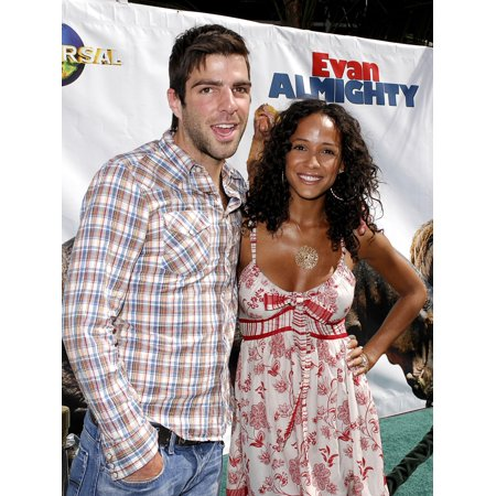 Dania Ramirez Zachary Quinto At Arrivals For Los Angeles Premiere Of Evan Almighty Gibson Amphitheatre At Universal Studios Los Angeles Ca June 10 2007 Photo By Michael GermanaEverett Collection (Kenny Loggins & Michael Mcdonald June 10)