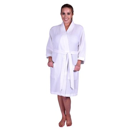 Latitude Run - Lowrey Natural Soft Cotton Waffle Kimono Bathrobe -  Walmart.com a161e077c
