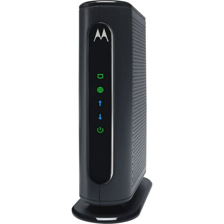 MOTOROLA MB7420 (16x4) Cable Modem, DOCSIS 3.0 | Certified by XFINITY by Comcast, Spectrum, Time Warner Cable, Cox, & more | 686 Mbps Max Speed Black Box Cable Modems