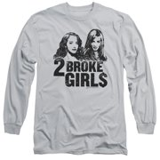 2 Broke Girls Broke Girls Mens Long Sleeve Shirt