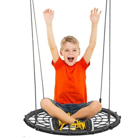 Round Platform Swing & Spin Complete Set-Round 24 Inches Diameter - - Platform Swing