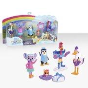 Disney Junior T.O.T.S. Collectible Figure Set, 6 pieces, Ages 3 +