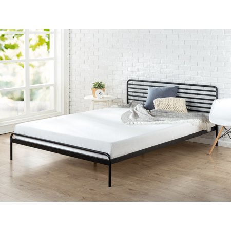 Zinus Tom Metal Platform Bed Frame, Design Award Winner, Queen (Queen Bed Frame Fashion)
