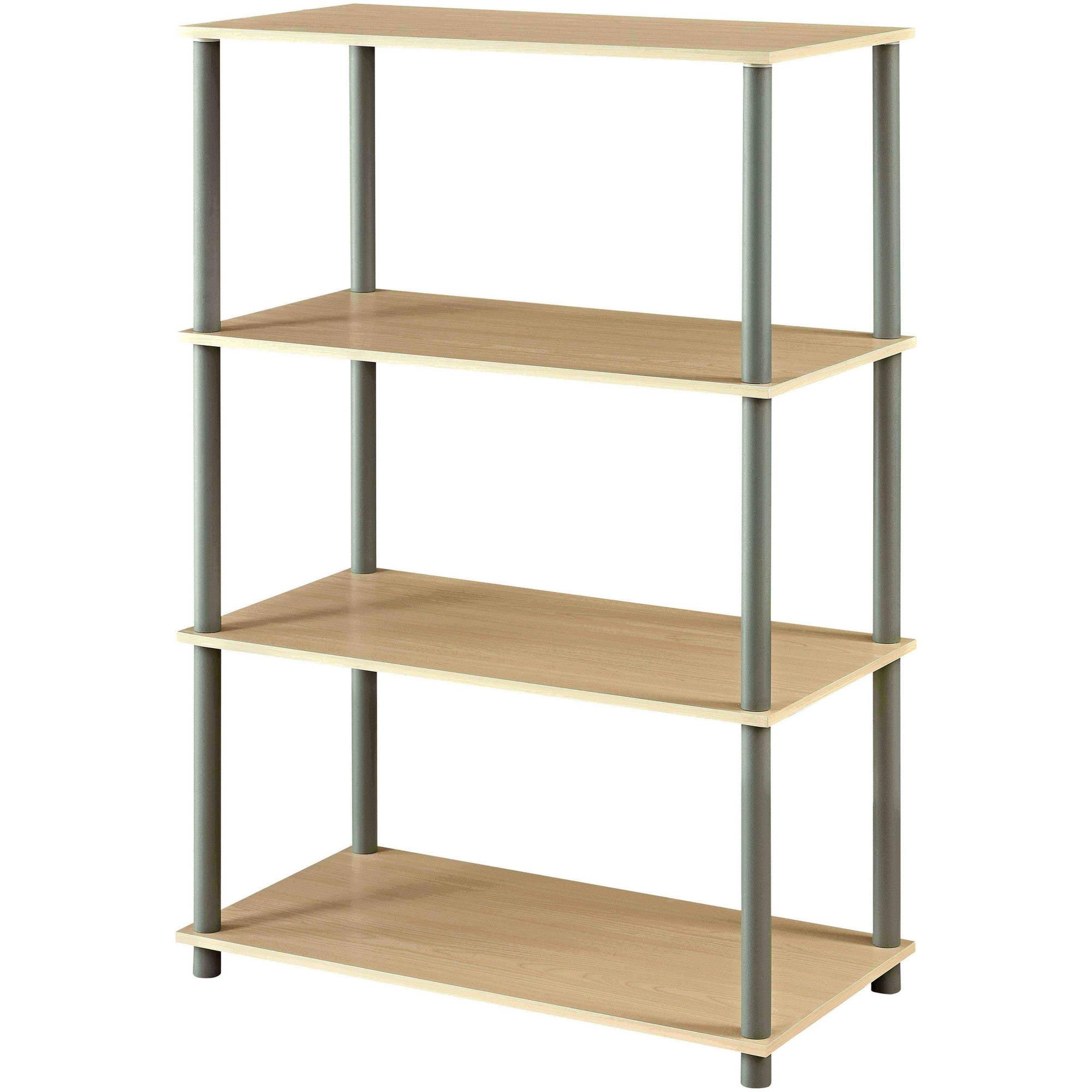mainstays no tools 6cube standard storage shelf multiple colors walmartcom