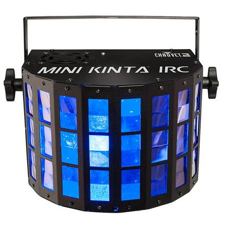 Dmx Colour (Chauvet DJ Mini Kinta IRC LED RGBW Multi-Color DMX Ambient Derby Light Effect )