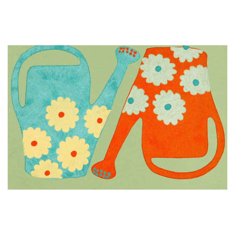 Liora Manne Visions III Watering Cans Doormat by Supplier Generic