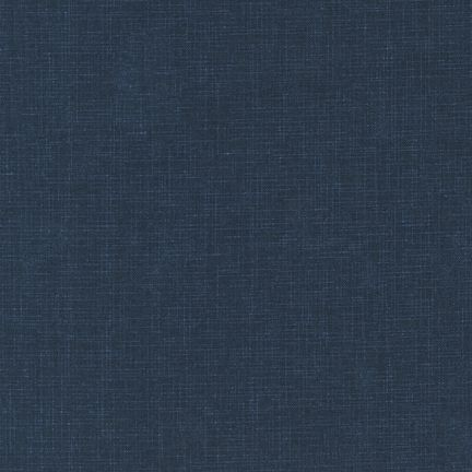 Robert Kaufman Quilters Linen Navy