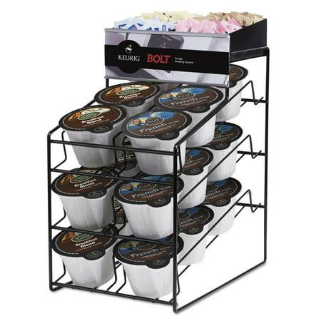 - Keurig Bolt Pack Wire Rack, Black, 15 x 10 3/4 x 18 1/2 -GMT40585