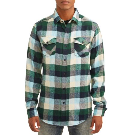 Blue Gear Men's Two Pocket Flannel Shirt
