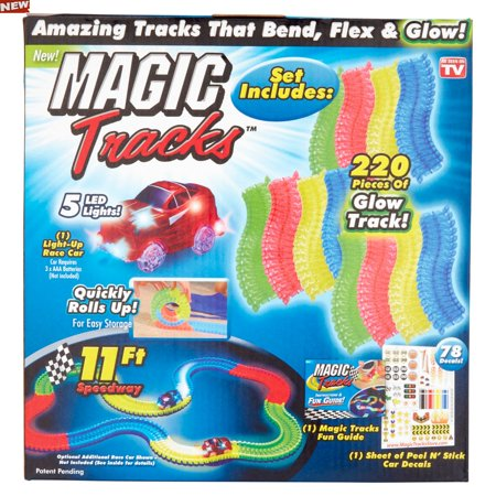 Flexi Track - Item Magic Tracks AS SEEN ON TV!! NEW bend Flex & Glow In The Dark Racetrack