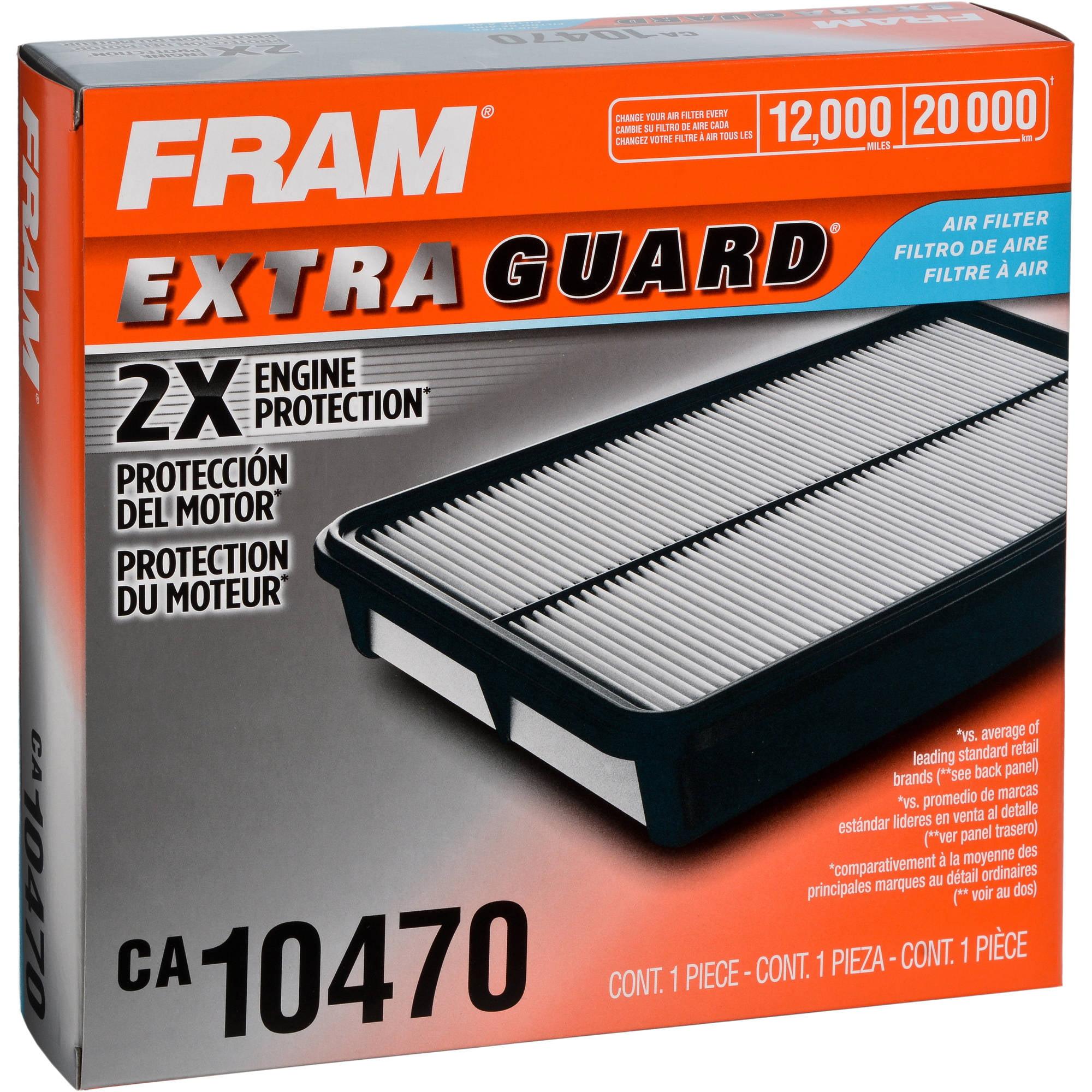 FRAM Extra Guard Air Filter, CA10470