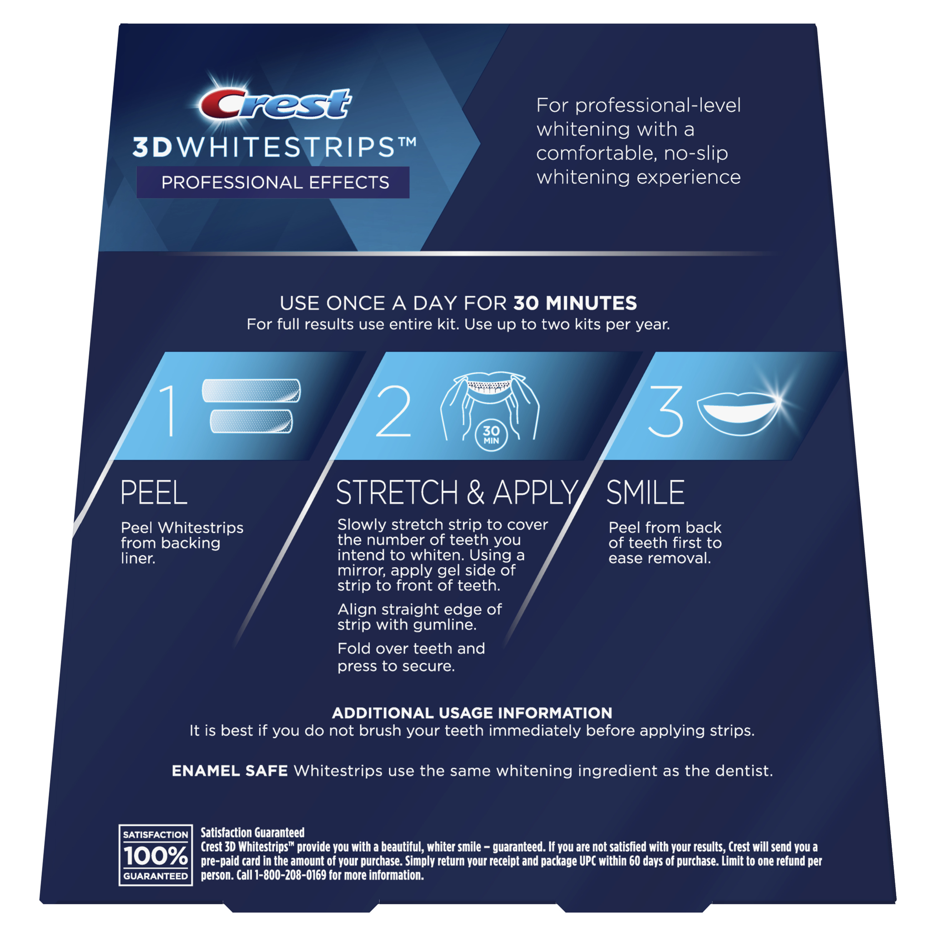 Crest 3d Whitestrips Professional Effects Teeth Whitening Strips