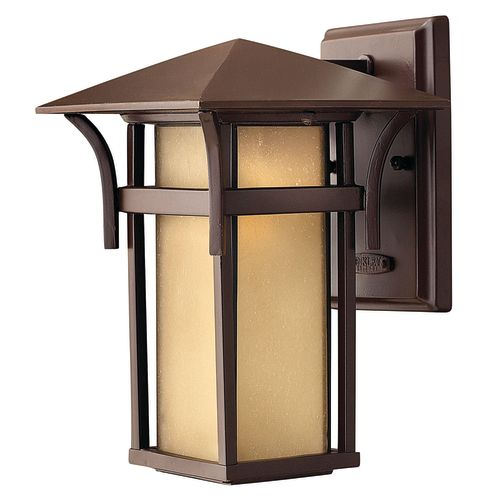 """Hinkley Lighting 2570-LED 1-Light 10.5"""" Height LED Outdoor Lantern Wall Sconce from the Harbor Collection"""