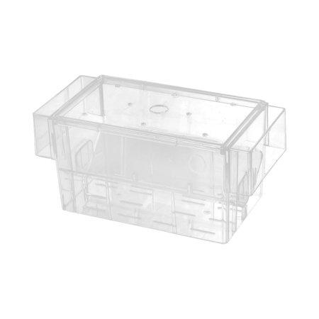 Fish Saver (Unique Bargains Clear Plastic Aquarium Fish Breeder Box Fry Saver Spawn Hatchery )