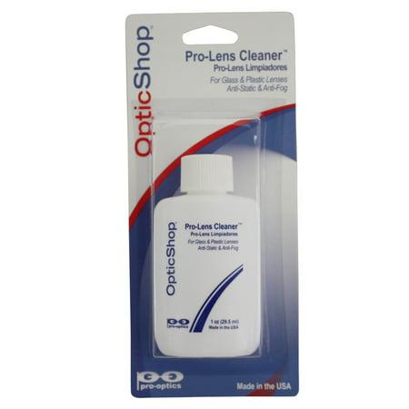 Professional Lens Cleaner (For Glass or Plastic (Glasses Plastic Lenses Vs Glass)