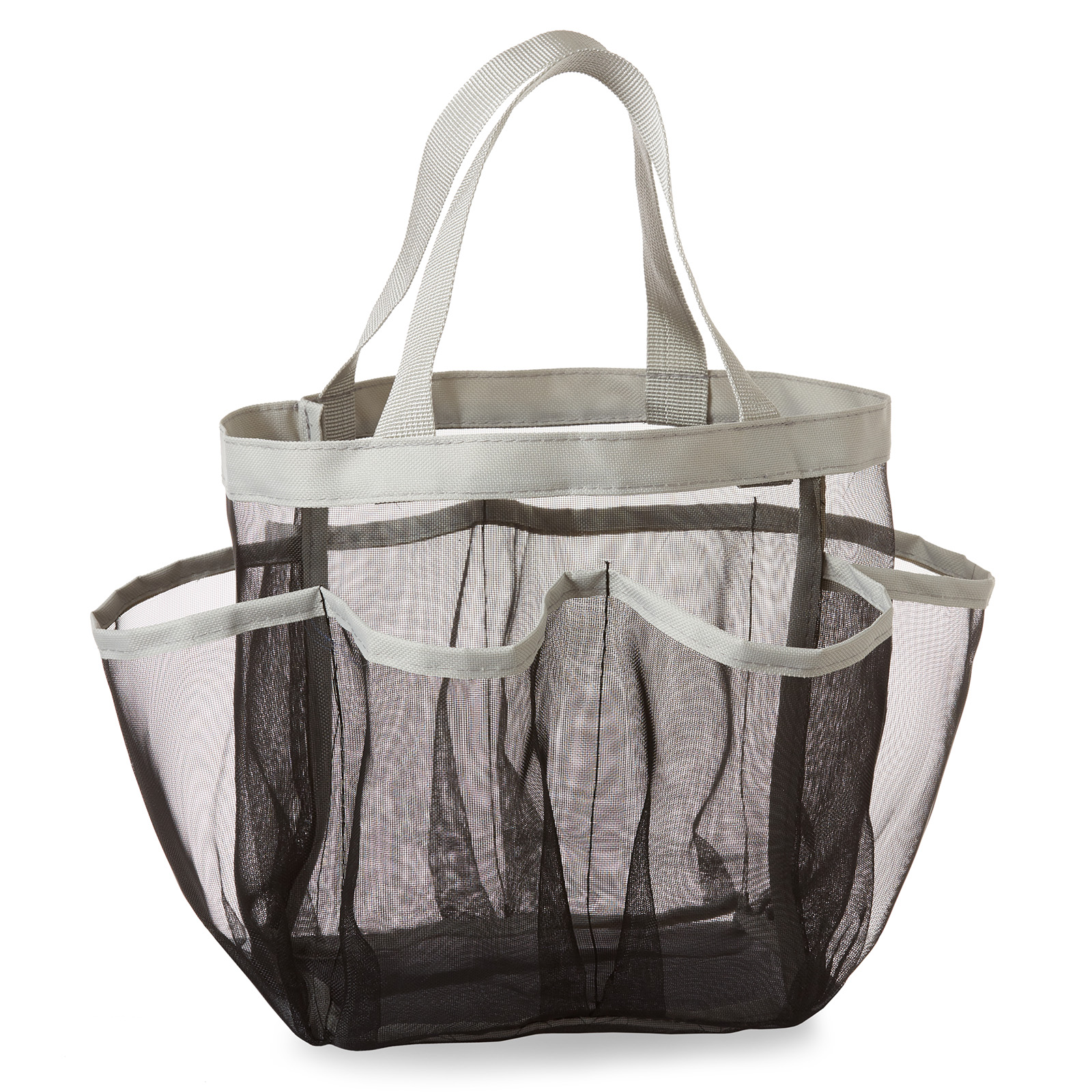 Casafield Portable Mesh Shower Caddy Tote, Black - Quick ...